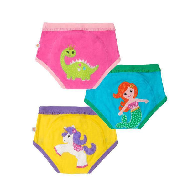 Zoocchini Organic Training Pants - Girl Fairy Tails-Pumpkin Pie Kids Canada