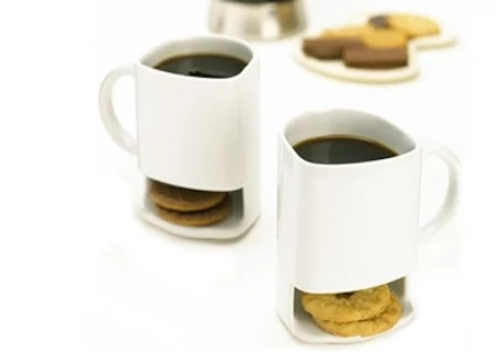 Hey Cookie Holder Mug for Sweet Tooth.