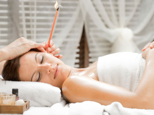 How to use ear candling therapy