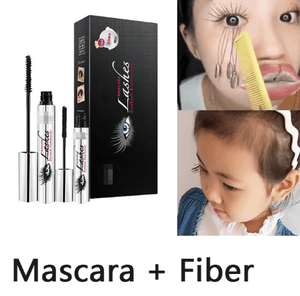 4D Silk Fiber Lash Mascara 2 IN 1 Set