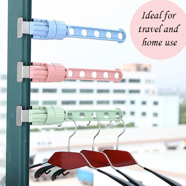 5 Hole Travel Hanging Rack