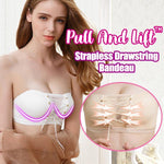Pull And Lift™Strapless Drawstring Bandeau