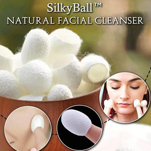 SilkyBall™Natural Facial Cleanser
