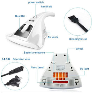 Anti-Dust Mites UV Vacuum Cleaner