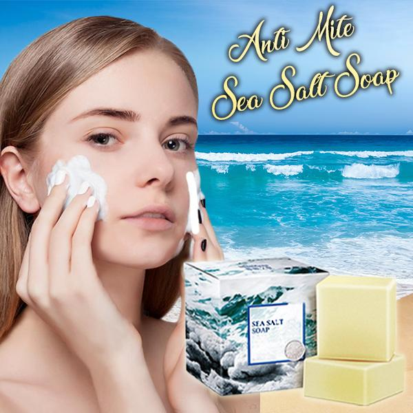 Anti-Mite Sea Salt Soap