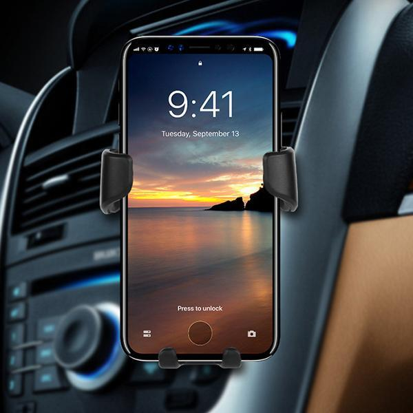 Auto Lock Phone Holder