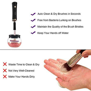 Auto Makeup Brush Cleaner