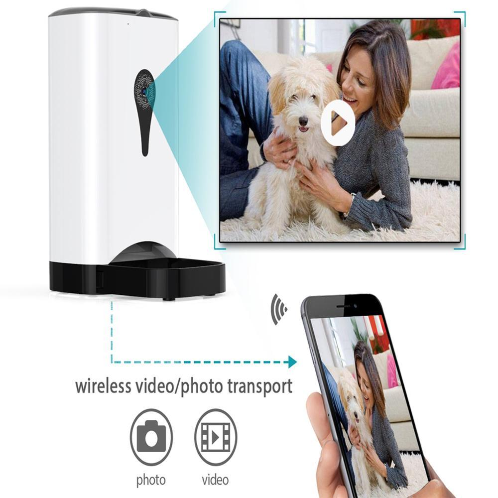 Automatic Remote Pet Feeder