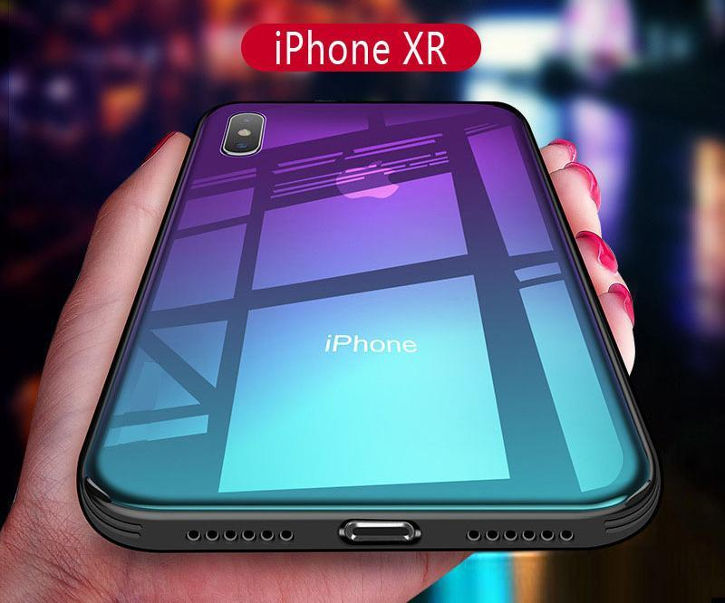 Creative Products - Luxury Gradient Glass IPhone Case