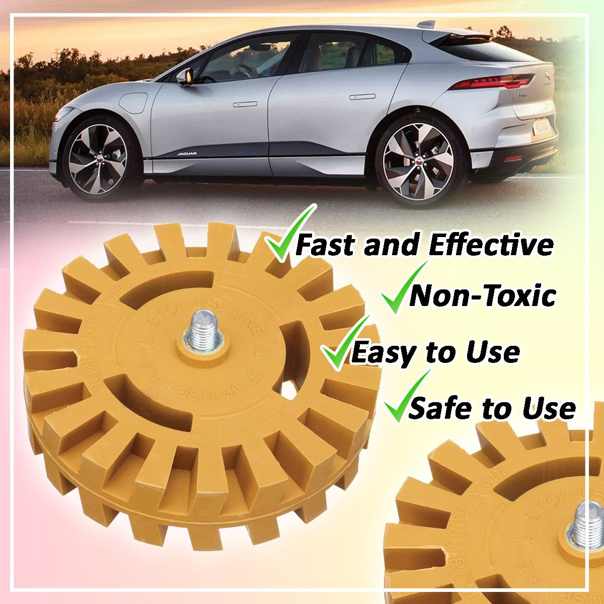 Decal Eraser Wheel