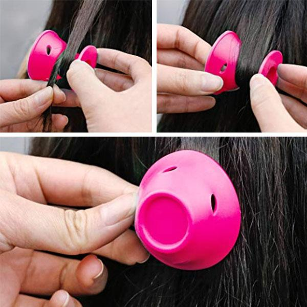 DIY Magic Hair Curl Roller