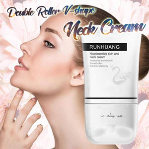 Double Roller V-shape Neck Cream