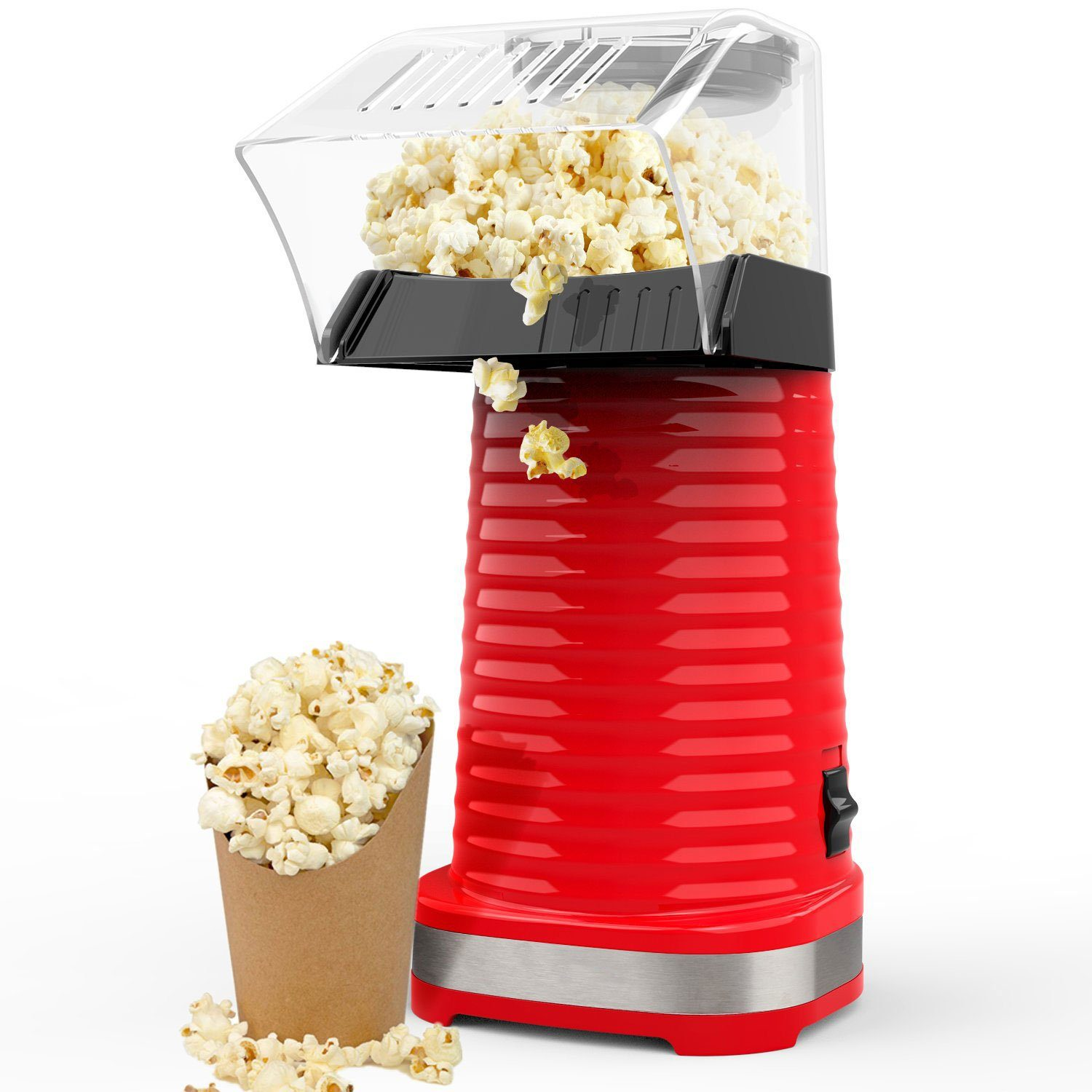 Electric Hot Air Popcorn Maker