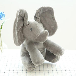 Hide And Seek Music Elephant Toy