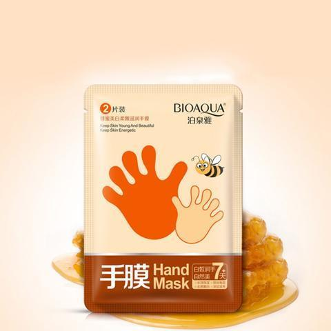 Honey Essence Whitening Moisture Hand Mask