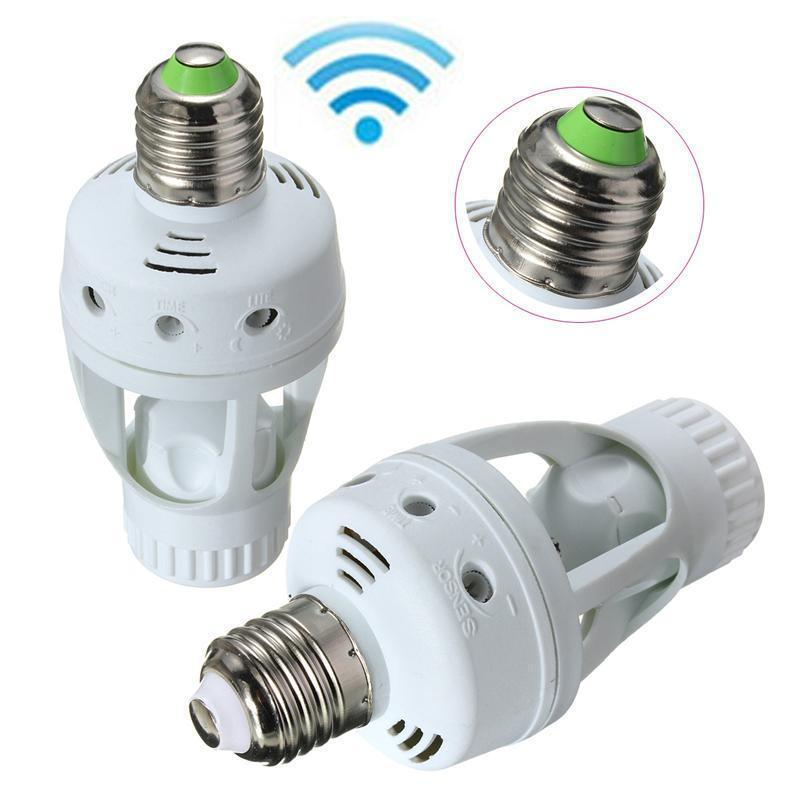 Infrared Motion Sensor Lightbulb
