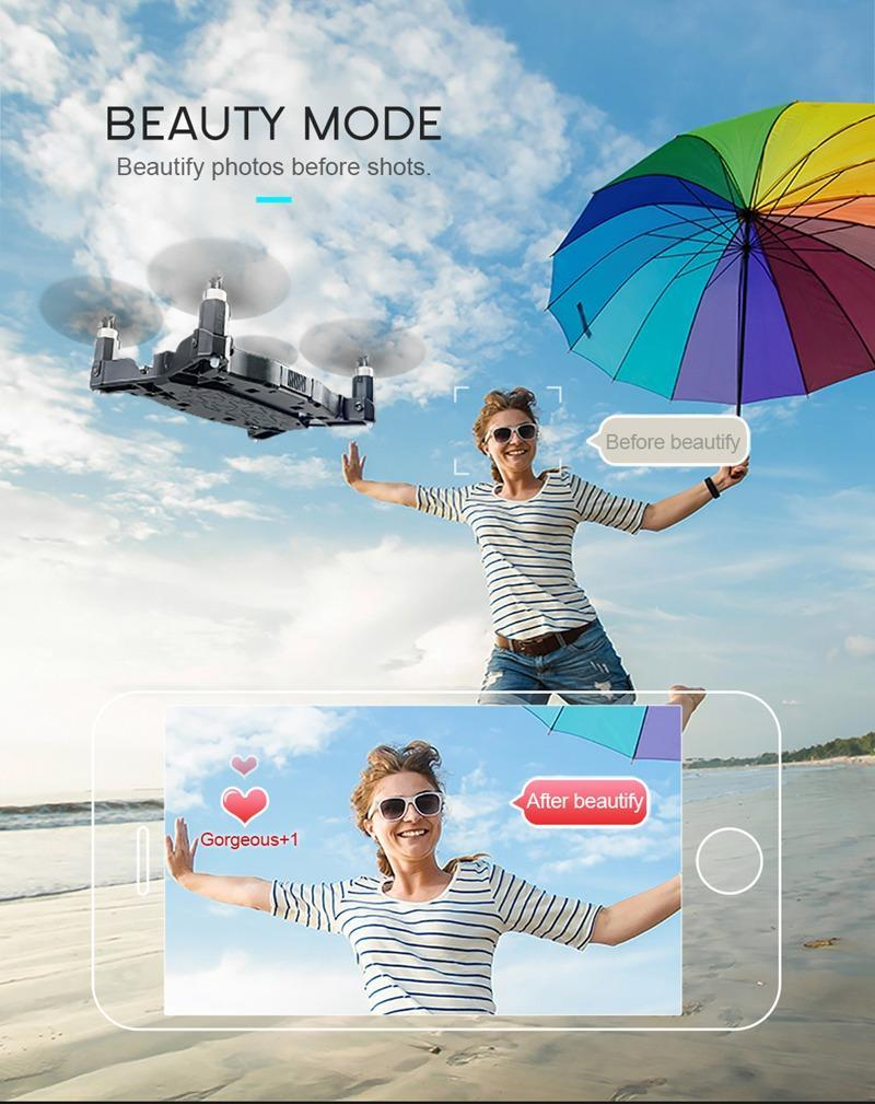 JJRC ULTRATHIN FOLDABLE DRONE