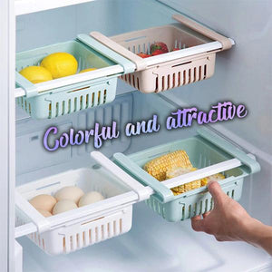 Kitchen Refrigerator Storage Rack