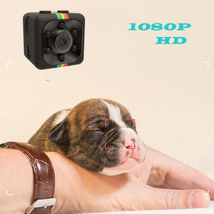 Mini Night Vision Camera 1080P HD 110 Degree FOV