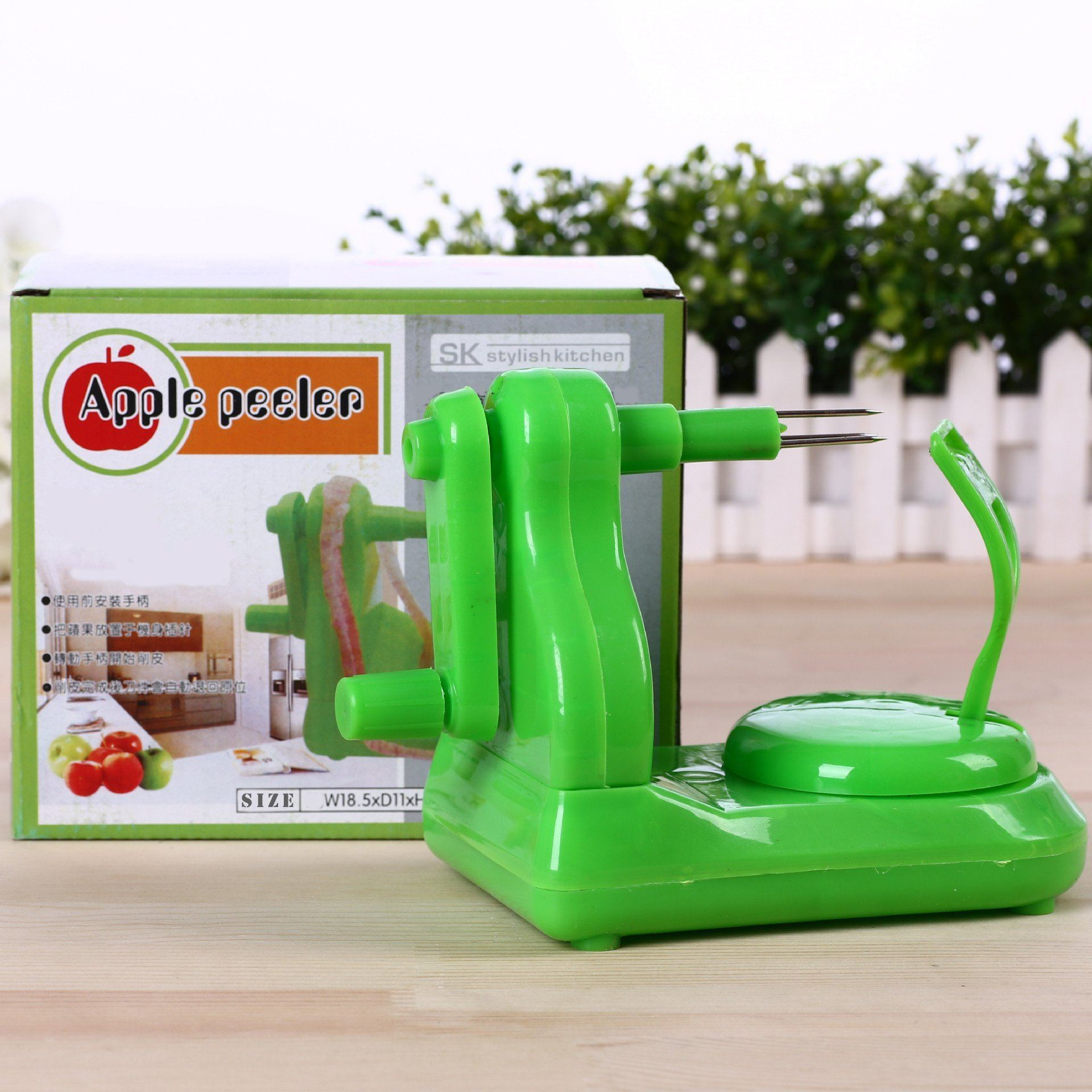 Rotating Fruit Peeler
