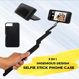 Selfie Stick Aluminum Extendable Phone Case