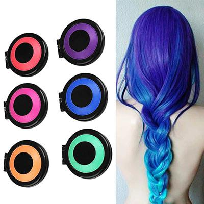 Temporary Hair Chalk - 6 Colors