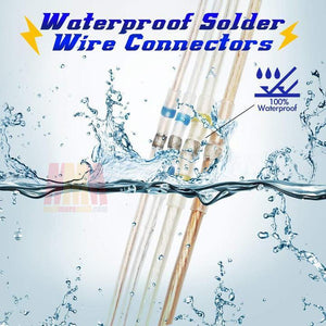 Waterproof Solder Wire Connectors (50 Pcs)