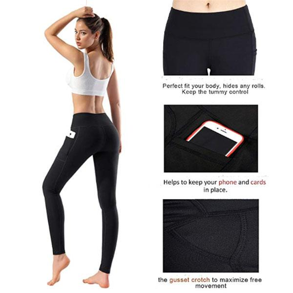 Women Fitness Pocket Leggings