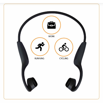 Tekt - Open Ears Wireless Bluetooth Bone Conduction Headphone