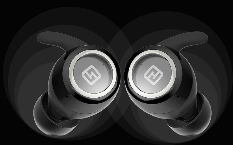 HiFuture OlymBuds True Wireless Earbuds Soft Bass - Up to 20 Hrs playback