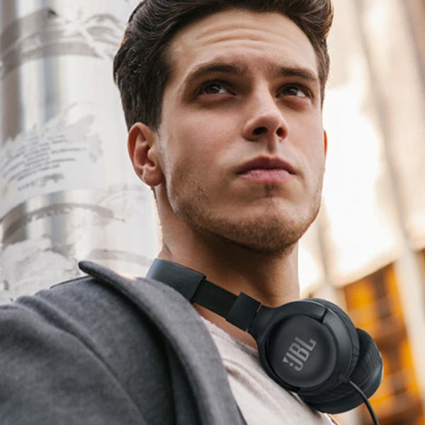 JBL TUNE 500 Wired On-Ear Headphones With Mic