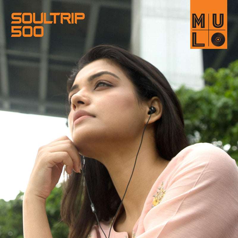 MULO Soultrip 500 Wired Metal Earphone with mic
