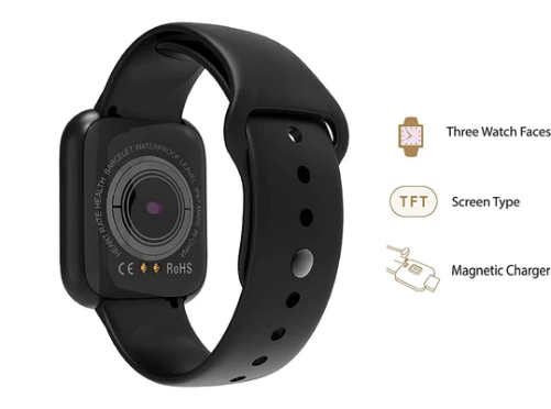 OPTA SB-168 Bluetooth Fitness Watch | Heart Rate and Activity Track