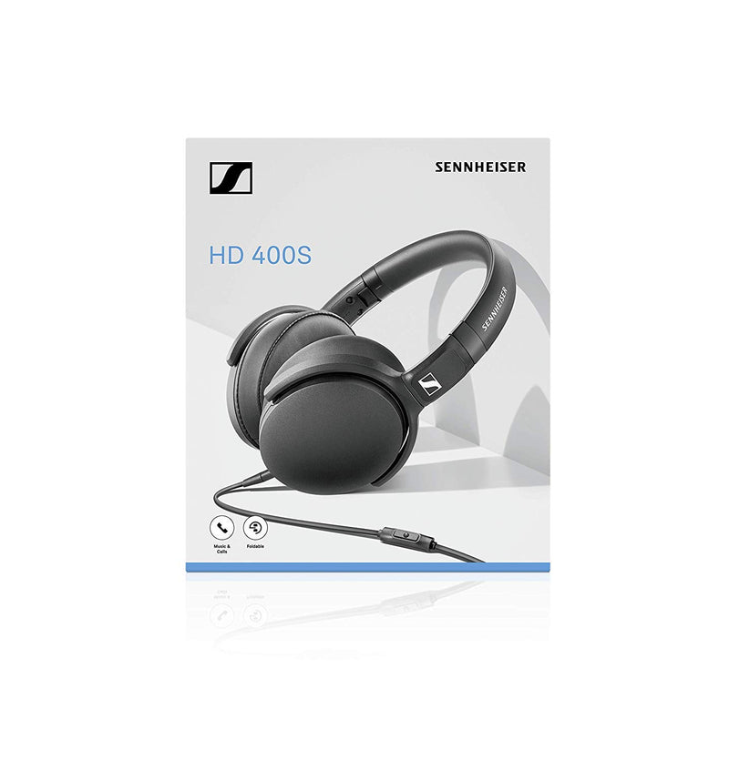 Sennheiser HD 400s Over Ear Wired Headphone With Mic