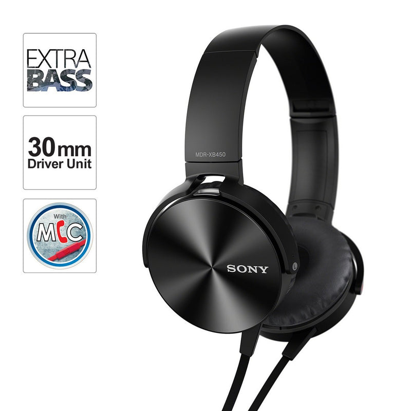 Sony MDR-XB450AP Wired Extra Bass on Ear Headphone