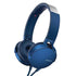 Sony MDR-XB550AP Extra Bass Wired On-Ear Headphones With Mic + 1Year warranty