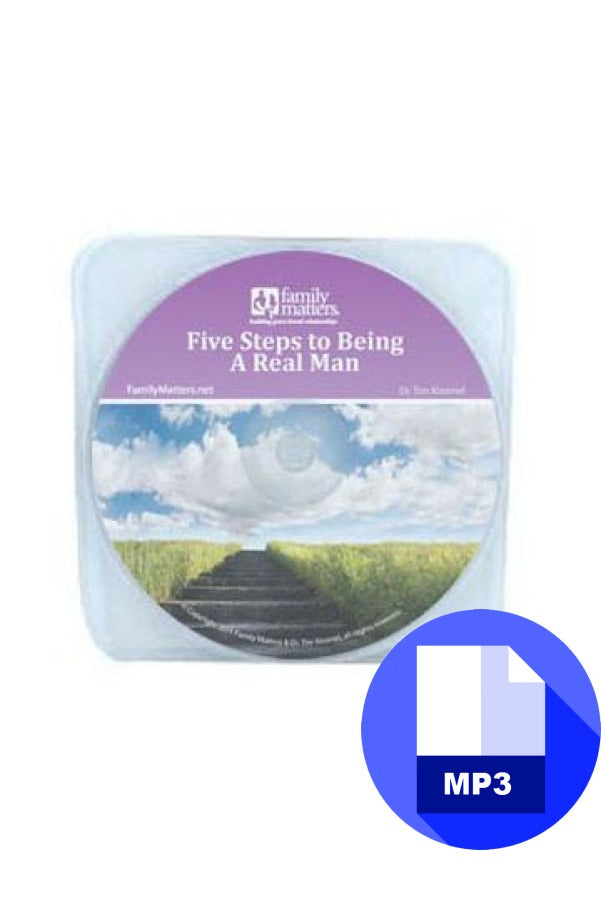 Five Steps to Being a Real Man - MP3 Download
