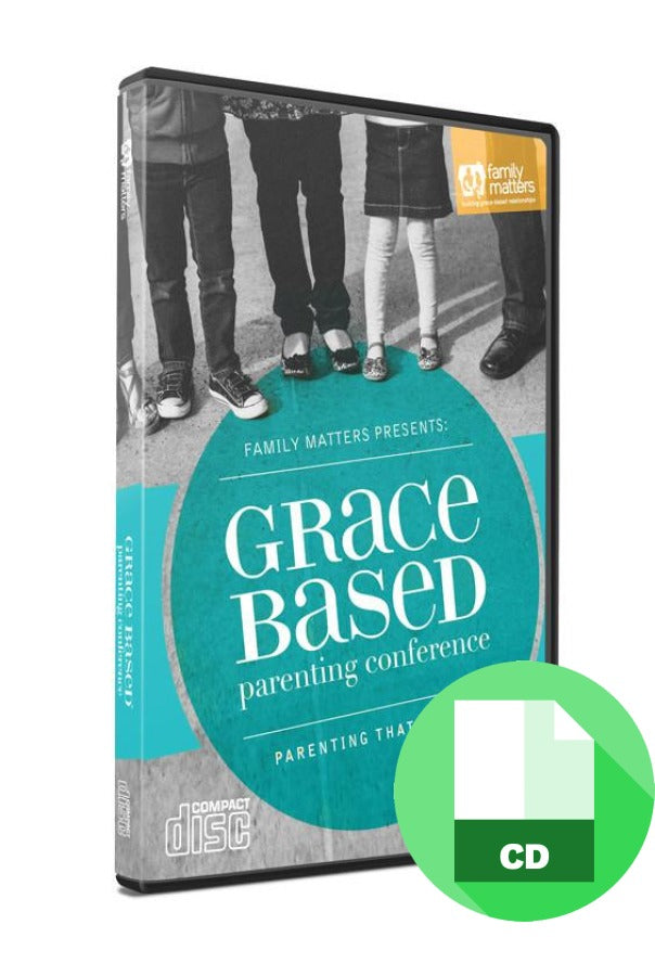 Grace Based Parenting Conference CD Audio Set
