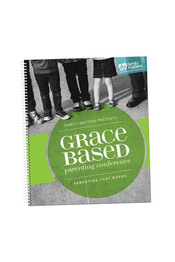 Grace Based Parenting Conference Notebook