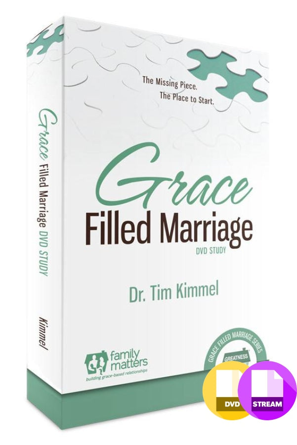 Grace Filled Marriage Video Study Dvd + 1 Workbook Videos