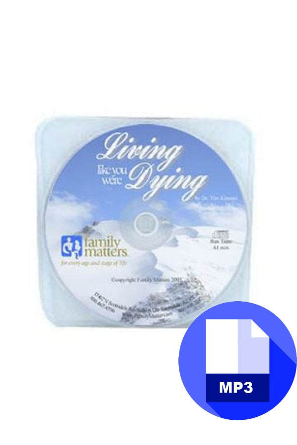 Living Like You Were Dying - Mp3 Download Audio