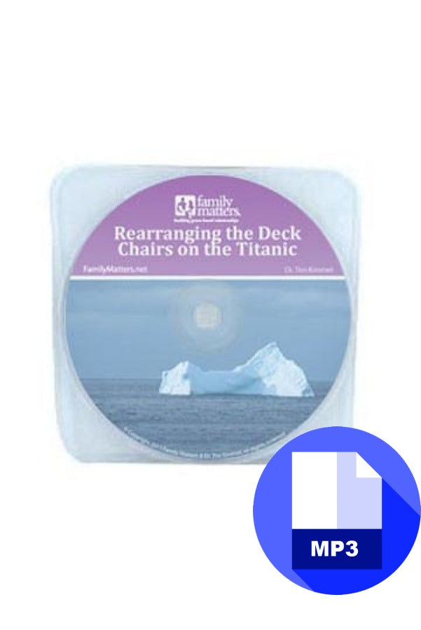 Rearranging Deck Chairs on the Titanic - MP3 Download