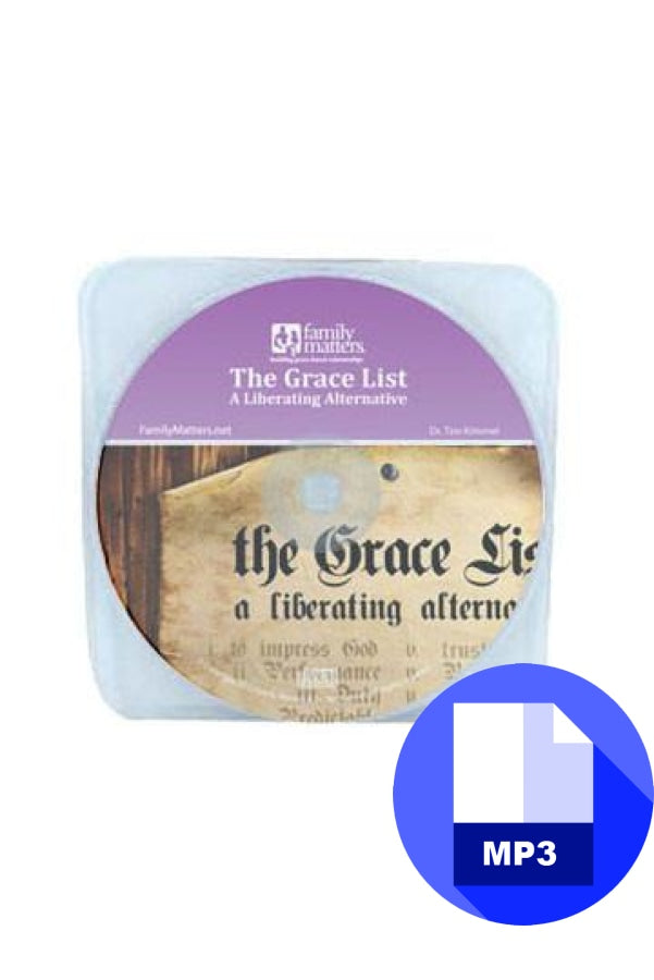 The Grace List - MP3 Download