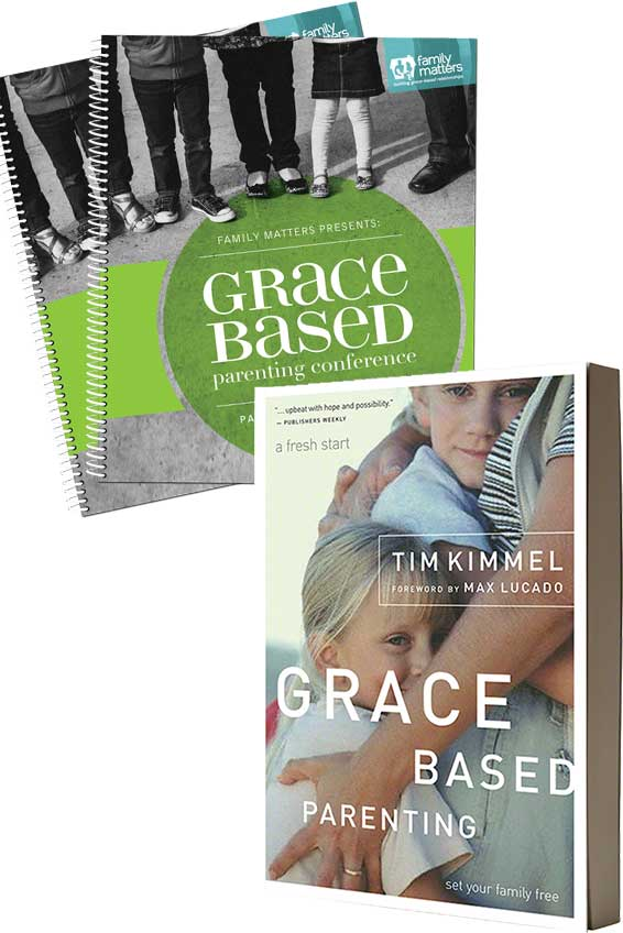 Grace Based Parenting Conference In-A-Box Attendee Kit