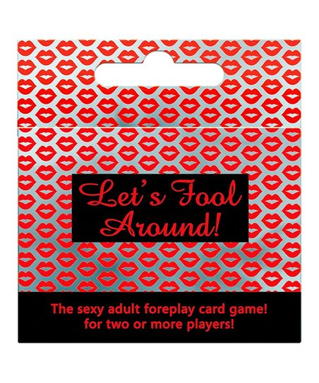 Let's fool around card game!