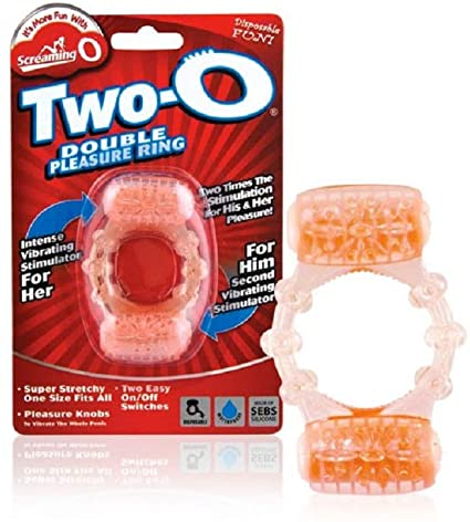 Screaming O Two O- Double Pleasure Ring