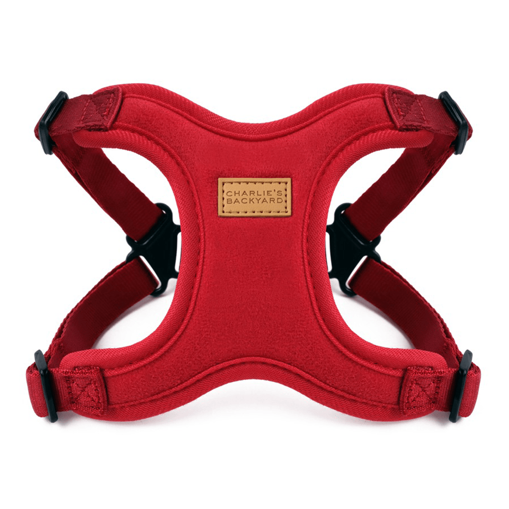 Comfort Harness (Red) | Charlie's Backyard