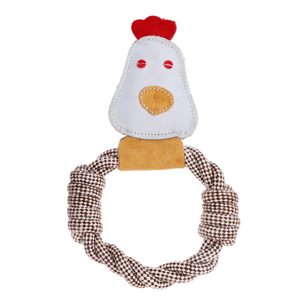 Country Tails Rope Farm Animal Toy (Chicken) | DOOG