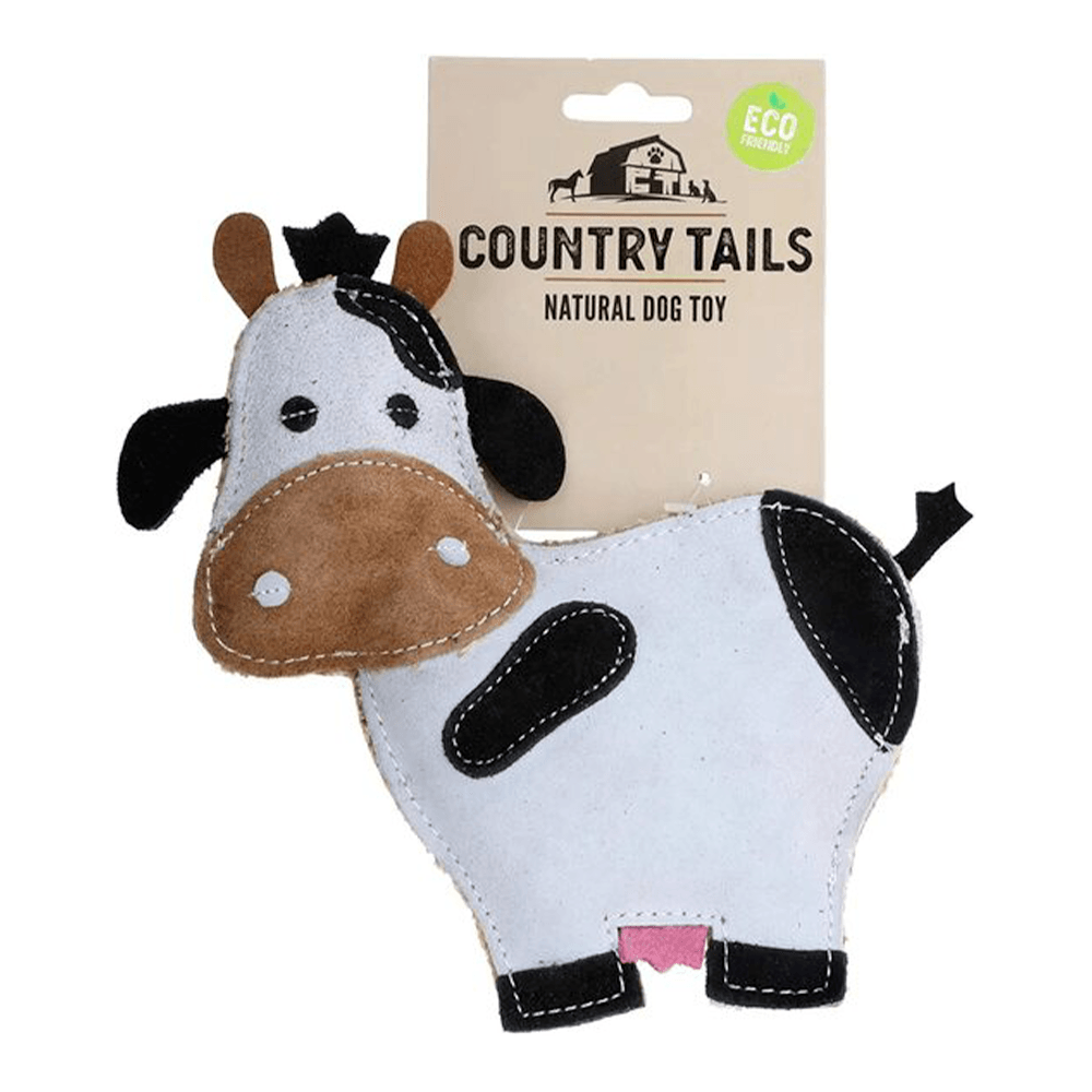 Country Tails Suede Farm Animal (Cow) | DOOG