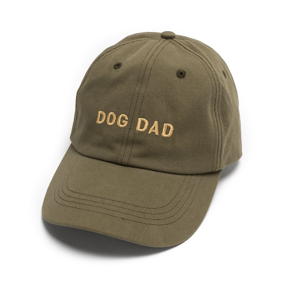 Dog Dad Hat (Olive) | Lucy & Co